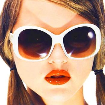 prada ad. fab lipstick | Prada | Pinterest