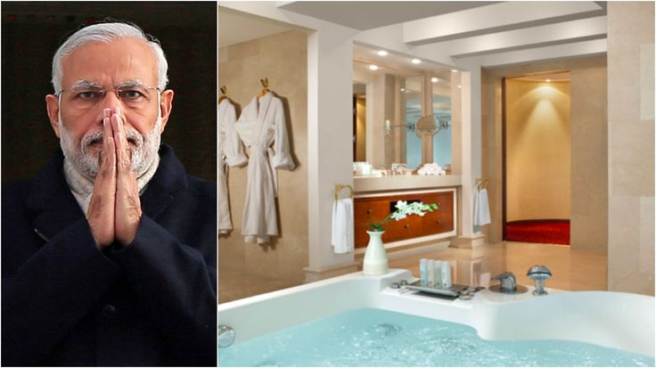 pin op narendra modi stayed in most secured suite in