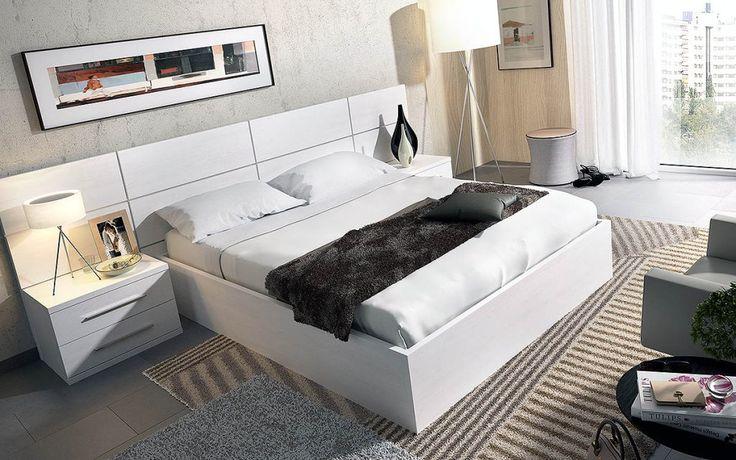 Dormitorio moderno (237 – D4) - Muebles CASANOVA