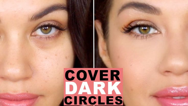 How To Cover Dark Circles and Bags Under Eyes | How to Color Correct | Eman - YouTube
