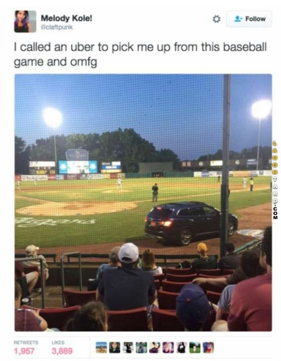 I called an Uber
