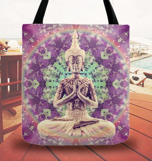 taška s Buddhou v mandale