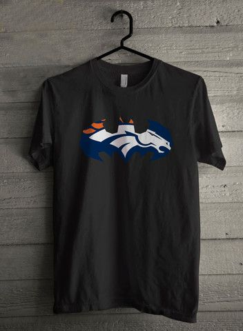 Batman Inspired Denver Broncos Football