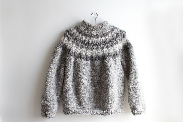 Icelandic Sweater by S△R△H, via Flickr