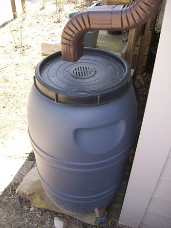 127 best rain barrels images on pinterest for How to make your own rain barrel system