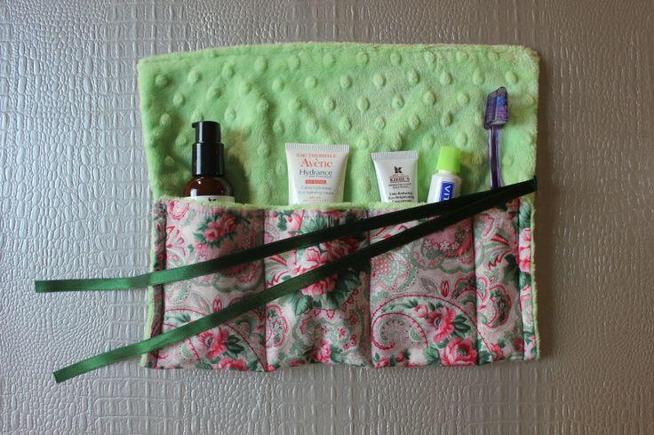 DIY: Manta o Roll-up para productos de uso diarioDIY: Manta o Roll-up para productos de uso diario