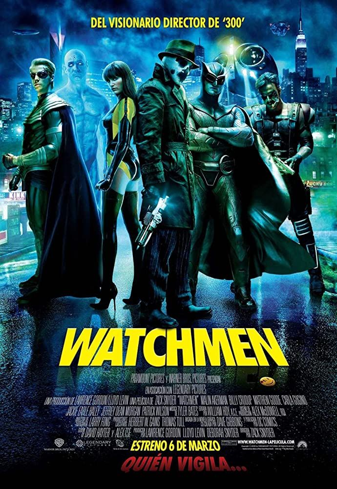 Pin By Eduardo Flores On Dc Films Watchmen Movie Posters Comedians