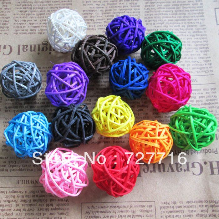 Find More Christmas Decoration Supplies Information about Wedding decorative rattan ball,Christmas  Home ornament / diameter 3cm 50pcs/lot  Mix color  Free shipping ,High Quality home easy,China christmas drum Suppliers, Cheap home cake decorating business from Beauty & Good Crafts Co.,Ltd on Aliexpress.com