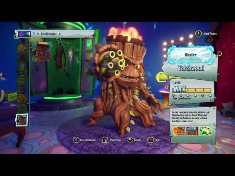 ALL TORCHWOOD SKINS | Plants vs zombies garden warfare 2