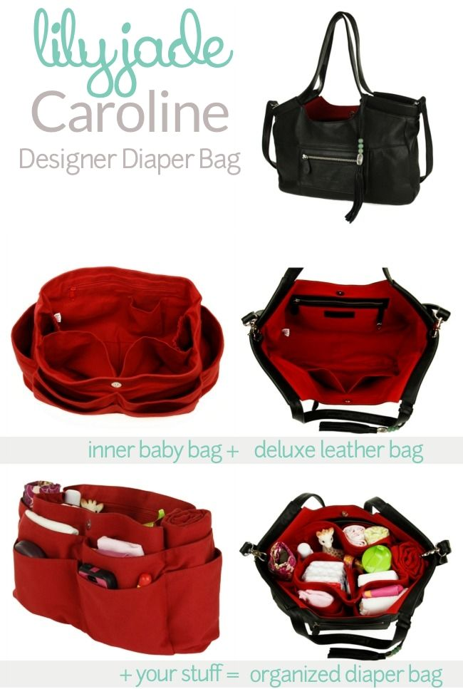 Lily Jade Caroline Diaper Bag with lots of storage