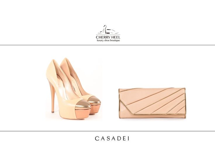 #Beige and #gold #elegance from #Casadei for your special occasions!  Shop in #CherryHeel boutique in #Barcelona and #online at www.cherryheel.com  #shoes #iloveshoes #shoppingbarcelona #madeinitaly #style #woman #fashion #italianfashion #italianstyle #bestshop #bestshoes #shoponline #musthaves