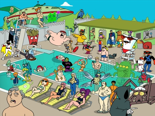 All the good adult swim shows :D