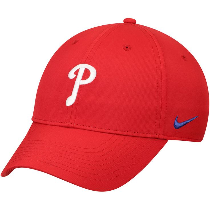 online store c9ed9 6d987 Philadelphia Phillies Nike Legacy 91 Performance Adjustable Hat - Red    Products   Hats, Philadelphia phillies, Baseball hats