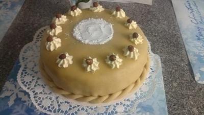 Rezept: Nuss-Sahne- Torte Bild Nr. 2
