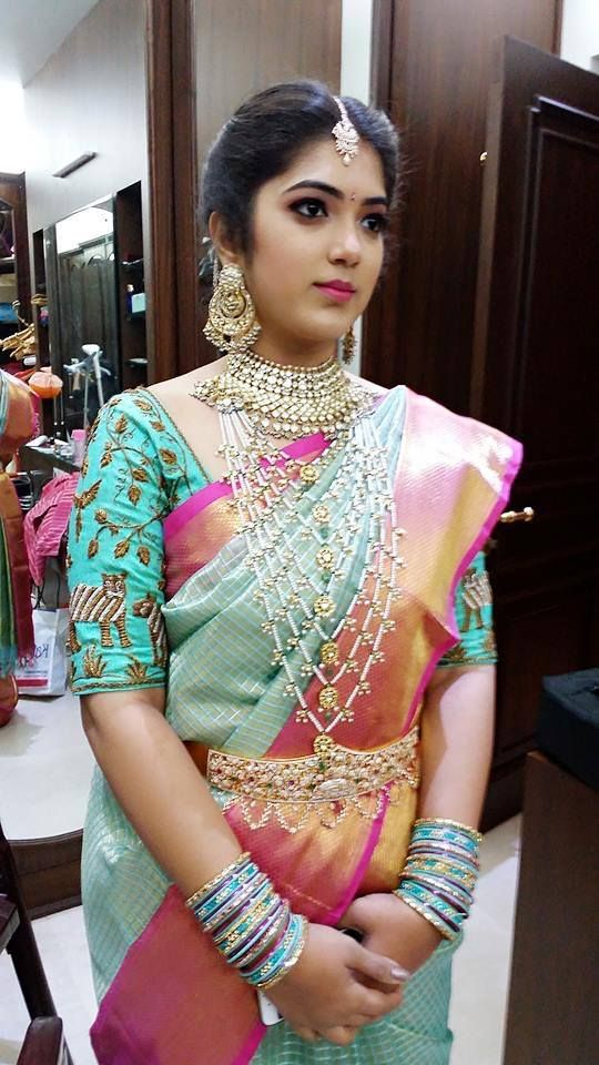 You must look your absolute best on your wedding day and for a million dollar look you need a professional with years of experience. Still not convinced, then take a look at these bridal makeovers by DL Manasa Makeup Artist. In these stunning pictures of the blushing brides one can see how the makeup artist has found her muse in the brides and enhanced their natural beauty. The finished look is as elegant as it is timeless...