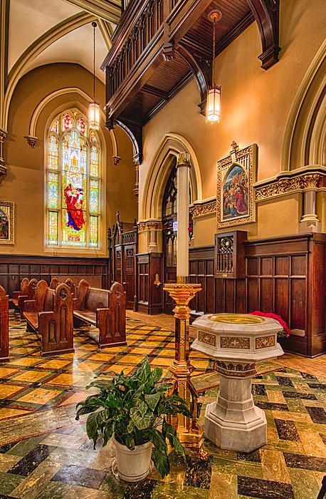 Holy Place - Our Lady Of Mt. Carmel Church by Lindley Johnson