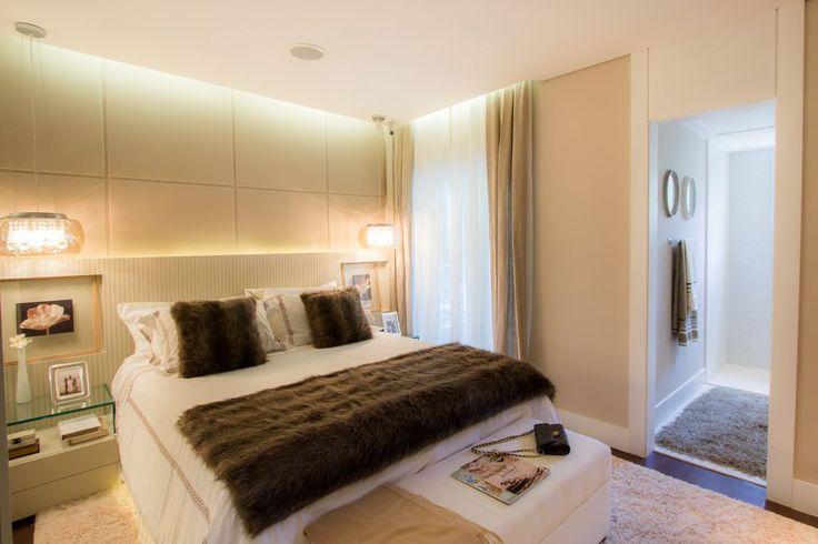 Suite - Apartamento Decorado 160m² - Cyrela #quitetefaria