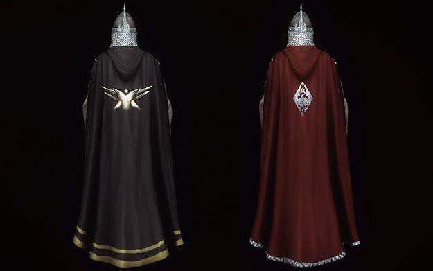 TES 5: Skyrim плащи и капюшоны Winter Is Coming - Cloaks