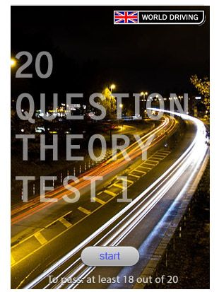Practice theory test #1 20 questions
