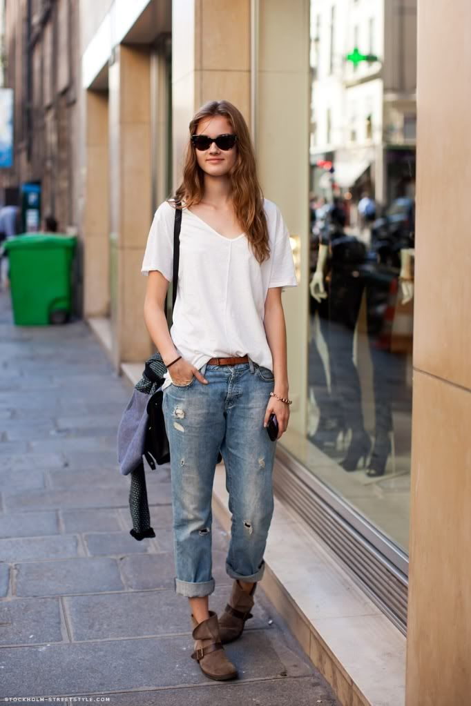 flat ankle boots with jeans - photo #4