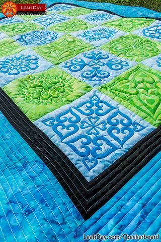 49 best Free Quilt Tutorial Videos with Leah Day images on ... : free quilt videos - Adamdwight.com