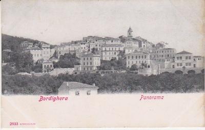 Alterocca Terni Postcard - Bordighera Panorama - 2633 c1909