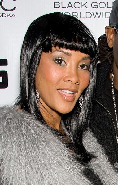 Vivica Foxs sleek hairstyle with bangs: Bangs Hair And Beautiful, Art Vivica, Celebrity Hairstyles, Sleek Hairstyles, Hairstyles News, Bangs Hair Beautiful, Foxes Sleek, Vivica Foxes, Popular Pin