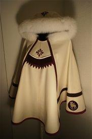 LUHKKA with fur hood. Pretty cute!