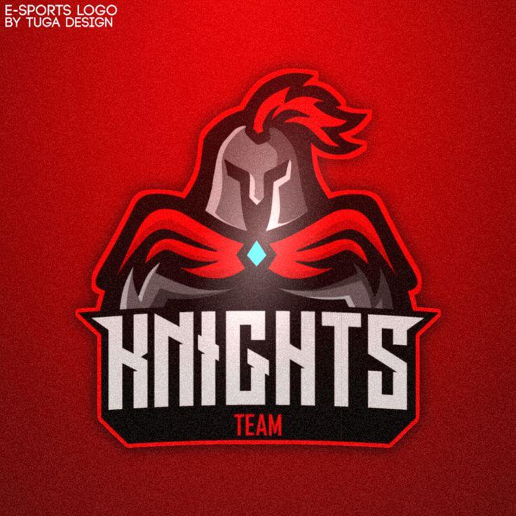 Knights eSports Logo on Behance in 2020 Sports logo