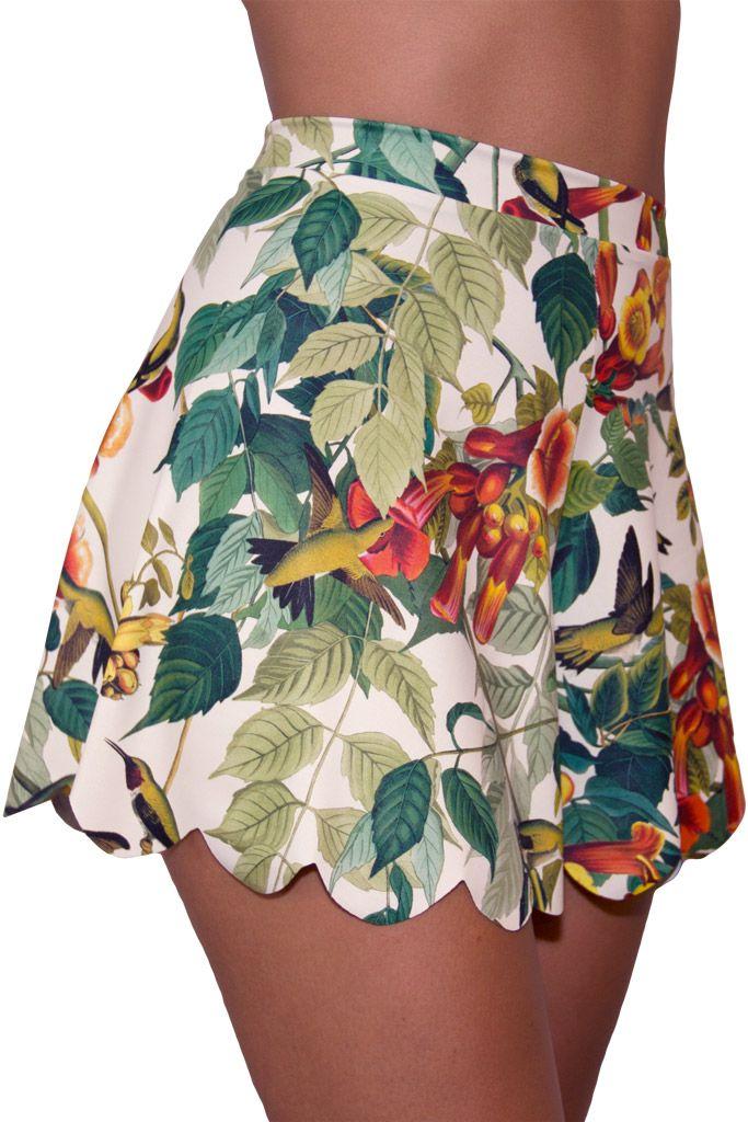 Hummingbird Shorties (WW ONLY $50AUD) by Black Milk Clothing