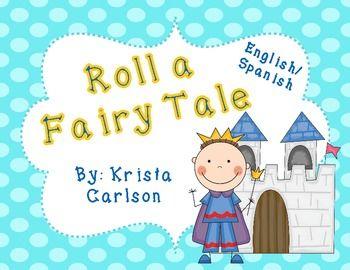Roll a Fairy Tale (Bilingual) Freebie