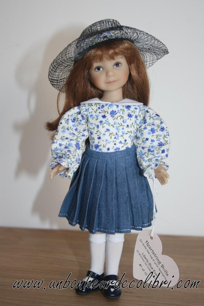 Poupée Eva Liberty Blue LE10