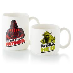 Darth Vader™ and Yoda™ Mug Set