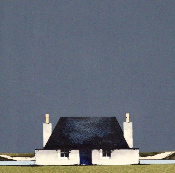 Ron Lawson_Tiree Cottage_Watercolour & Gouache_EAS500_12x12