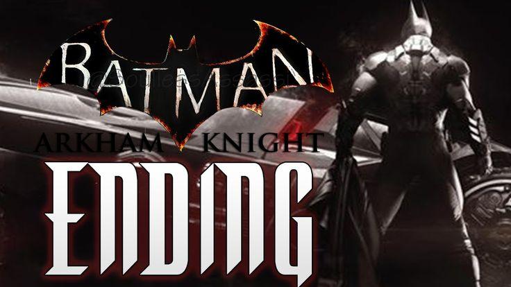 Batman: Arkham Knight | Leaked DEMO Ending! MAJOR SPOILERS [Do Not Watch]