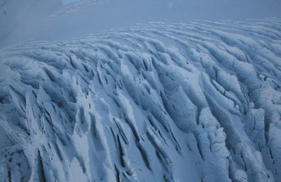 Great shot of the glacier crevasses taken by one of our TripAdvisor reviewers
