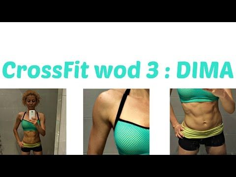 DIMA WOD 3:CrossFit Challenge: Abs and Thighs Toning, Functional Arm Exercises and Saddlebags Burn - YouTube