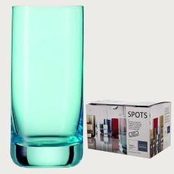 Набор стаканов для воды 320 мл, цвет голубой, 6 шт, серия Spots, SCHOTT ZWIESEL, Германия