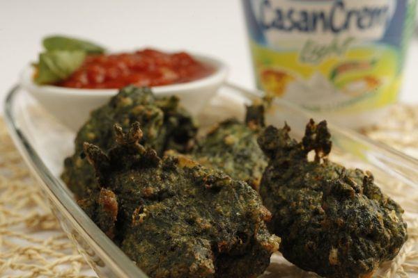 Buñuelos de espinaca - Spinach Puffs