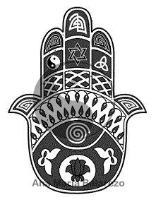 """FENG SHUI, MANO DE FÁTIMA Llamado """"HAMSA"""" O """"KHAMSA"""" este amuleto de forma de mano abierta es considerado una potente protección contra la  maldad, el mal de ojo."""