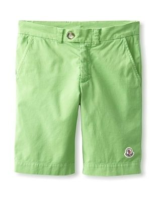 38% OFF Moncler Kid's Chino Shorts (Green Apple)