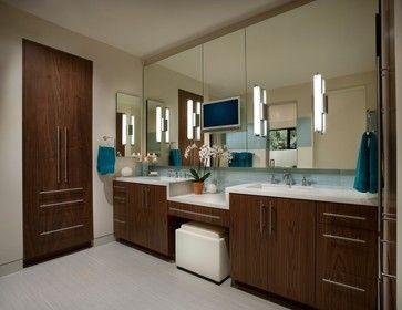 40 Best Bathroom Vanity Cabinets Images On Pinterest Bath Sit Down Makeup Station