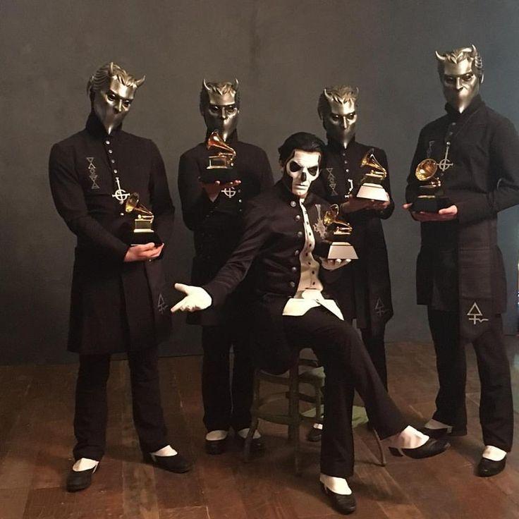"""GHOST haben mit ihrem Song 'Cirice' einen Grammy in der Kategorie """"beste Metal-Performance&quot..."""