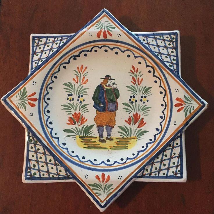 465 best quimper pottery images on pinterest quimper. Black Bedroom Furniture Sets. Home Design Ideas