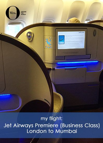 On a trip to India, I tried Jet Airways' Premiere cabin (business class) on a flight from London Heathrow to Mumbai. Our flight was a total of 8h55, allowing for the 5h30 time difference. Here is how my trip went.