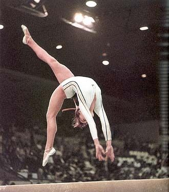 Nadia Comaneci - perfect 10 gymnast!