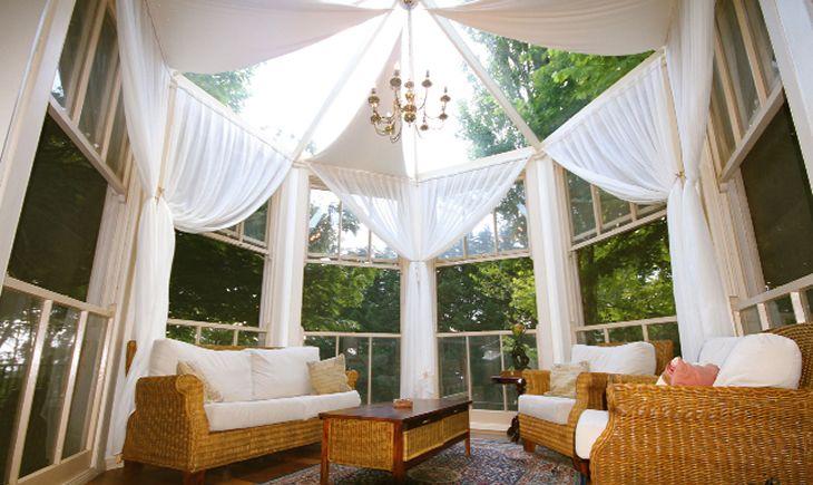 Lavender Majestic - The Stunning Sun Room
