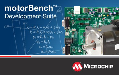 Microchip debuts advanced motor control tool with  auto tuning and self-commissioning capability