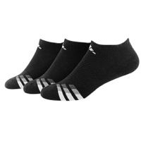 adidas 3-Stripe 3 Pack No Show Socks - Men's at Foot Locker