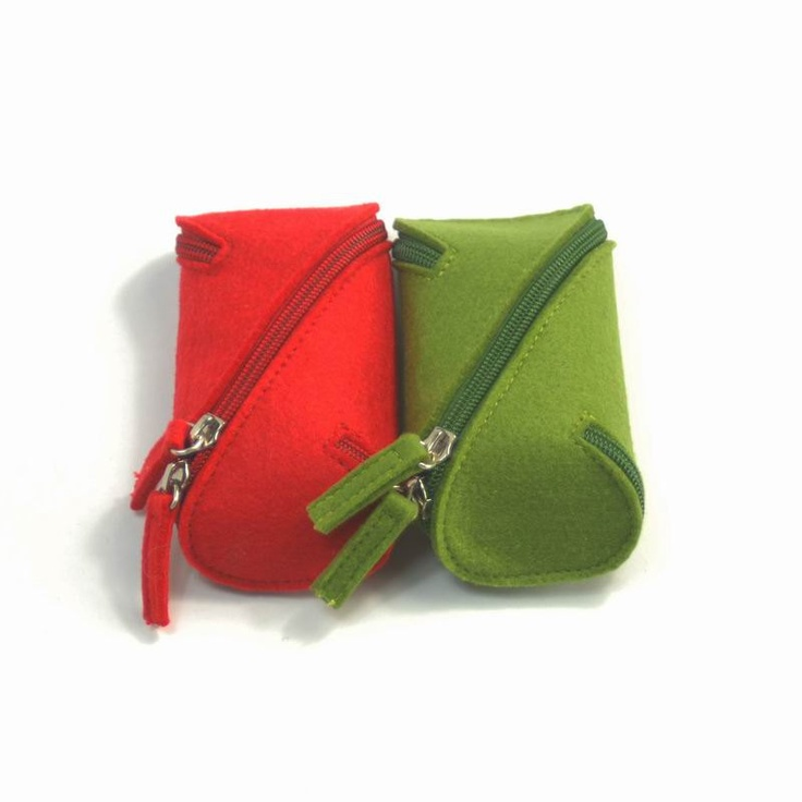 Felt Simple Pen Case Bag Wallet Purse Storage Bag Organizer Make-up Cosmetic Coins USB Keys Pouch Wallet Purse Arrange Bag Case :FE002. $12.00, via Etsy.